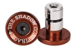 SHADOW DEADBOLT BAR ENDS RED