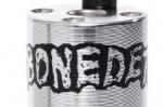 BONE DETH DIET GRINDERS PEGS FRONT SILVER 1 PC