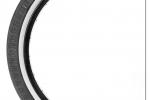 SHADOW UNDERTAKER 20X2.25 TIRE WHITE WALL