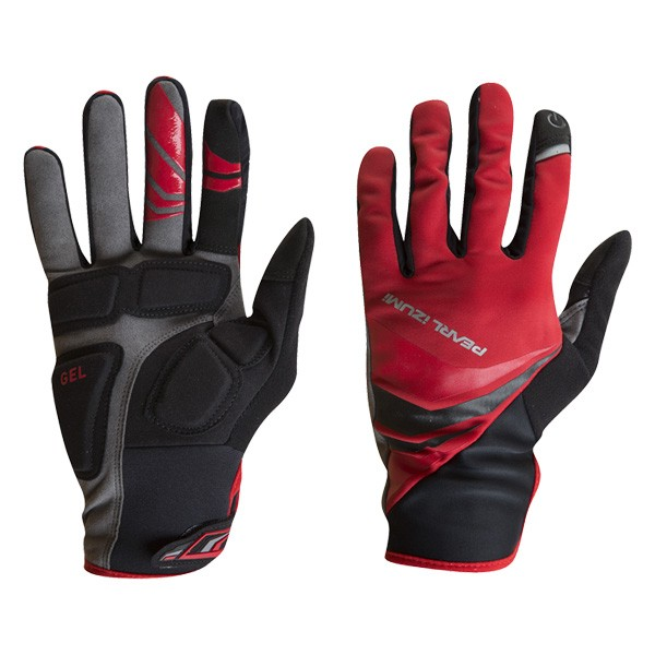 Pearl Izumi Cyclone Gel Bike Gloves red