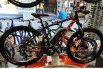 Νεο Ποδήλατο ΗΛΕΚΤΡΙΚΟ Scott aspect 950 29 black orange  με Υδραυλικά Δισκόφρενα