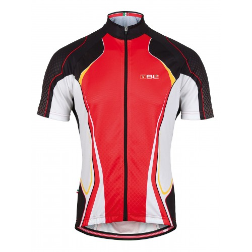 43af02650318 Μπλούζα Bicycle Line με κοντό μανίκι Shock -Κόκκινη