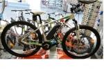 Ποδήλατο ΗΛΕΚΤΡΙΚΟ IDEAL ZIGZAG 29 WHITE GREEN με Υδραυλικά Δισκόφρενα