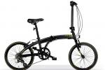 Ποδήλατο MBM SNAP 2016 BLACK FOLDING