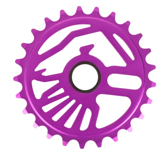 SHADOW CROW SPROCKET 25T PURPLE