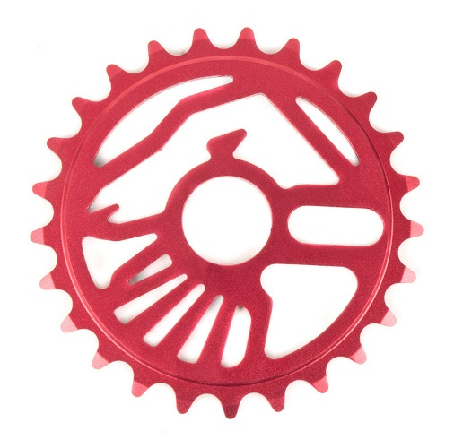 SHADOW CROW SPROCKET 25T RED