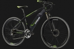Ποδήλατο ΗΛΕΚΤΡΙΚΟ Lombardo Valderice MTB E-Bike 27.5 Black-Green NEW MODEL