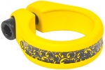 SHADOW ALFRED SEAT POST CLAMP YELLOW