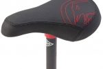 SHADOW SOLUS MID SEAT AND SEATPOST COMBO RED