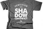 SHADOW BAT SHIT CRAZY GREY T-SHIRT