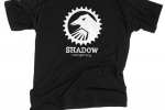 SHADOW ICON BLACK T-SHIRT