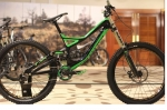 SPECIALIZED DEMO 8 FSR I 2013 BLACK GREEN DOWNHILL