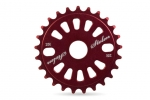 STOLEN CLASS RING III SPROCKET 25T RED