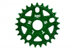 stolen sumo sprocket 25t green