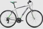 Ποδήλατο CUBE CURVE 2017 SILVER GREEN