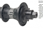 SHADOW BTR CASSET HUB BLACK